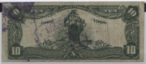 1902 Date Back $10 Note Signed Collins, Cash. and Herring, Pres. Charter #10236