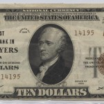 Ft. Myers 1929type 2 $10