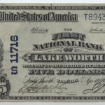Lake Worth 1902 PB $5