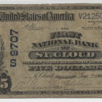 St. Cloud 1902 DB $5