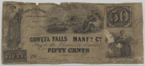 50 Cent Note Jan 1, 1855