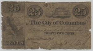 Complete 25 Cent Note