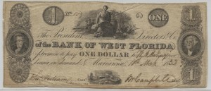 "1832 $1 ""C"" Plate Note"
