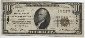 1929 $10 Type 1 Chapter #7404