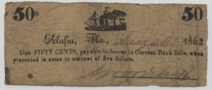 1862 50 Cent Note