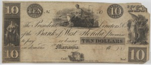 "18__ Unissued $10 ""A"" Plate Note from Harley L. Freeman Collection"