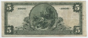 1902 Date Back $5 Note Charter #9926