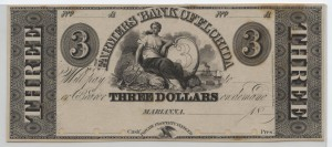 """18__ Proof $3 """"A"""" Plate Note"""