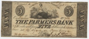 1837 $5 Note