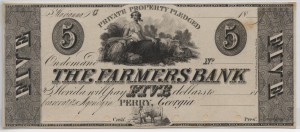 """18__ Proof $5 """"C"""" Plate Note"""
