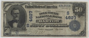 1902 $50 Date Back Charter #4627