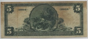 1902 Date Back $5 Note Charter #10069