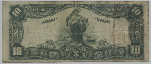1902 Date Back $10 Note Charter #10069
