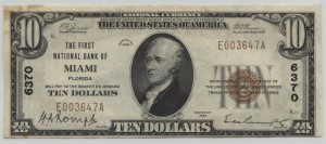 1929 Type 1 $10 Note Charter #6370