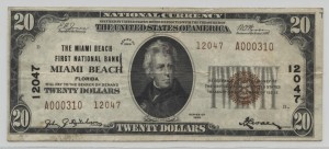 1929 Type 2 $20 Note Charter #12047