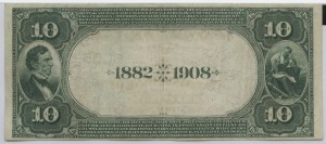 1882 Date Back $10 Note Charter #6055
