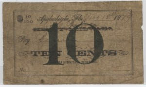 1879 10 Cent Note