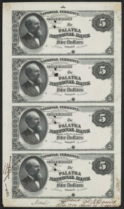 $5 Proof Sheet Source: Smithsonian Florida Proof Project