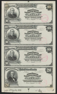 $10 and $20 Proof Sheet Source: Smithsonian Florida Proof Project