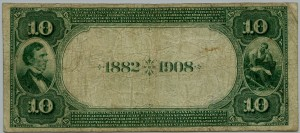 1882 $10 Date Back Charter #5534