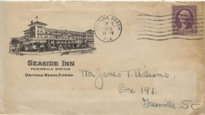 1933 Daytona Beach Seaside Inn Peninsula Station
