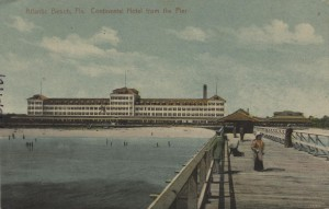 1911 Atlantic Beach Continental Hotel Postcard