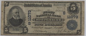 1902 Plain Back $20 Note Charter #11073