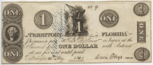 1831 $1 Note (very rare)