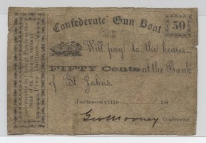 1861 .50 Cent Note