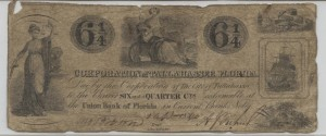 1840 6 1/4 Cent Note
