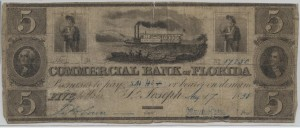 1838 $5 Note