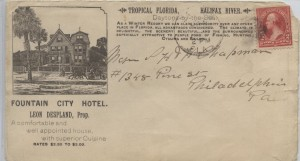 1895 Daytona Beach Fountain City Hotel