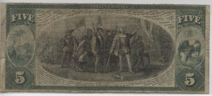 1875 Series $5 Note Charter #2490