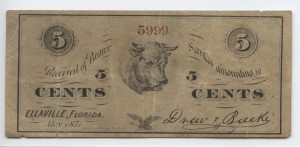 May 1871 5 Cent Note