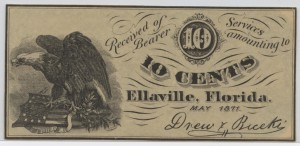 May 1871 10 Cent Note