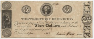 1830 $3 Note (very rare)