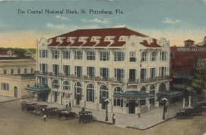 The Central National Bank Post Card