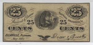 May 1871 25 Cent Note