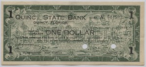 1933 Quincy State Bank $1