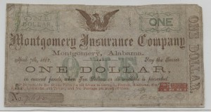1862 $1 Stage Coach Money