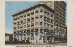 Central National Bank & Trust Co. Post Card
