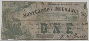 May 8, 1862 Train Variety $1 Note