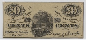 May 1871 50 Cent Note