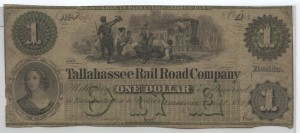 "1860 $1 ""B"" Plate Note"