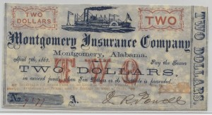 1862 Stage Coach $2 Note