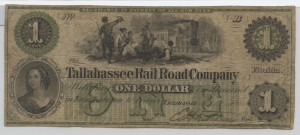 "1860 $1 ""A' Plate Note"