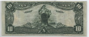 1902 Date Back $10 Note Charter #3497