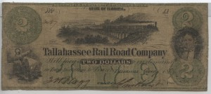 "1860 $2 ""A"" Plate Note"