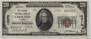 1929 Type 2 $20 Note Charter #13370