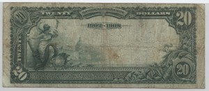 1902 Date Back $20 Note Charter #3497